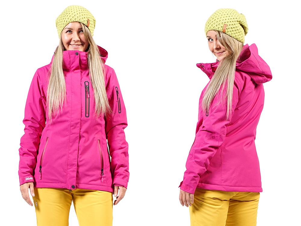 a73d2d00a81 У шведского бренда 8848 Altitude представлена линейка моделей женских  горнолыжных курток в стиле классического минимализма