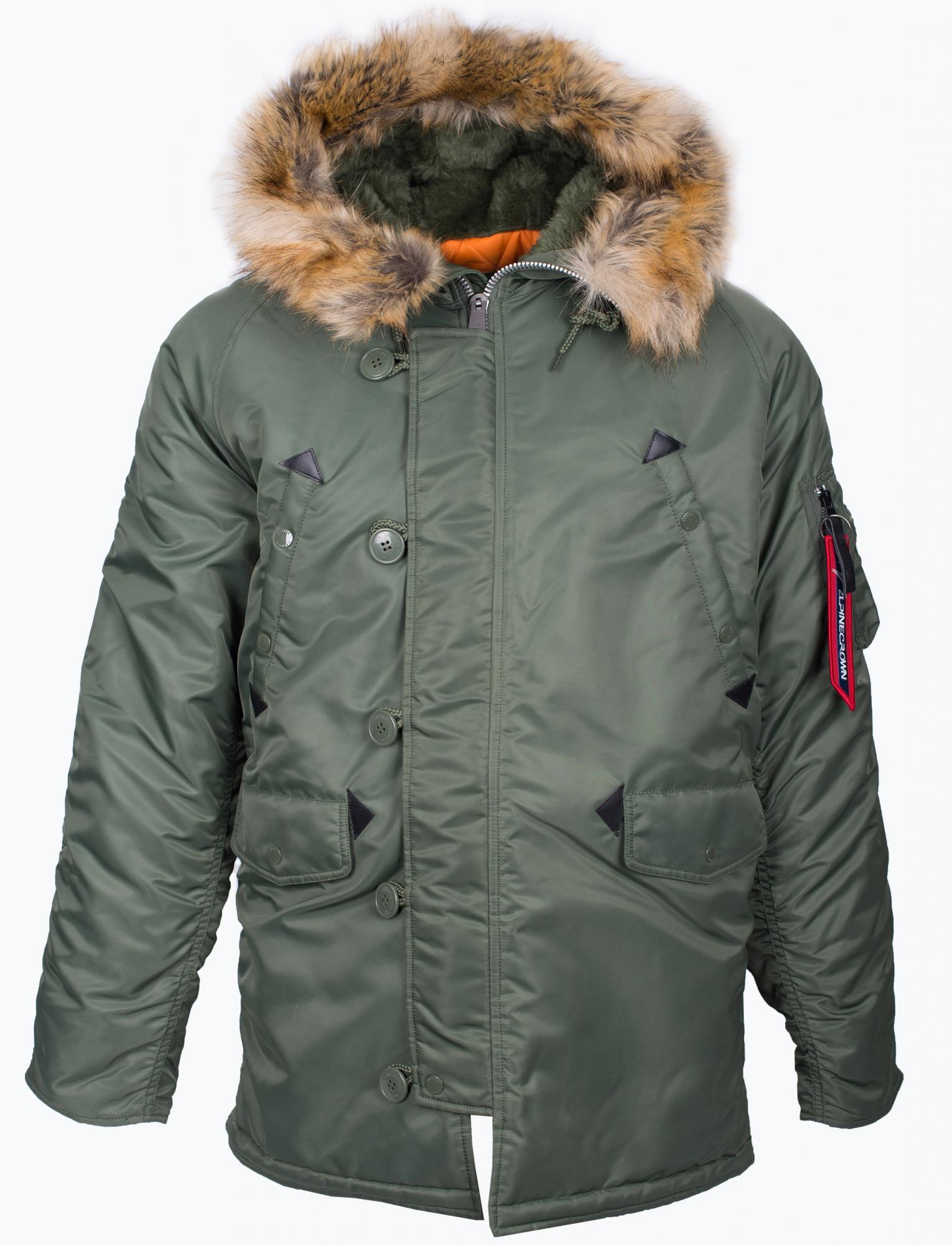be5260b04a38d Куртка-парка Alpine Crown «AIR FORCE» - Аритикул ACPJ-170205 «AIR