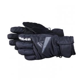 """Горнолыжные перчатки подростковые 8848 ALTITUDE """"Dempsey  Junior"""" black"""