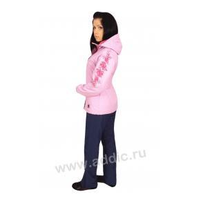 Куртка женская на флисе (66L-3X-387)