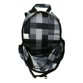 Рюкзак MEATFLY «CHIKA» checkers grey (A)