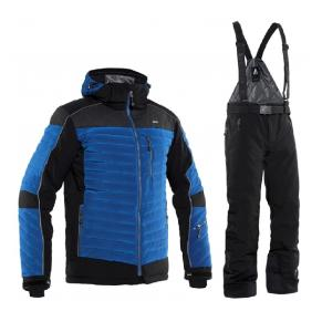 КУРТКА TERBIUM JACKET BERLINER BLUE + БРЮКИ FREY BLACK