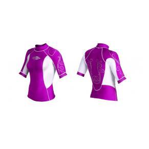 Лайкровая рубашка MORMAII «DIVA» с коротким  рукавом
