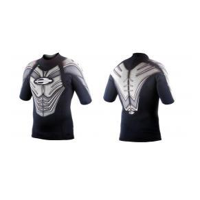 Лайкровая рубашка мужская короткий рукав MORMAII VENTUS
