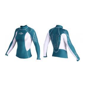 Лайкровая рубашка MORMAII «DIVA» с длинным  рукавом
