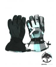 «ORGINIZED GLOVES» checkers 3 blue