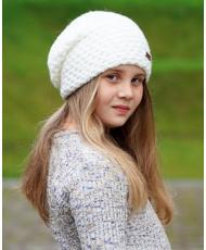 "1509 Подростковая шапочка ""АСГАРД"" белая"