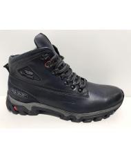 D6181 Ботинки мужские Bastom (темно-синие)