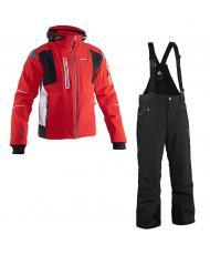 8848 Altitude куртка «GTS» красный + брюки «VENTURE» черный