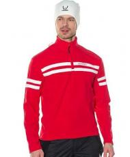 Флис мужской HYRA red/white
