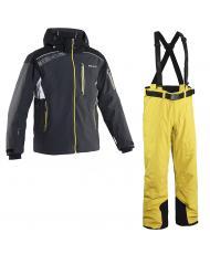 8848 Altitude куртка «KENSIN» угольный +брюки «BASE-68» желтый