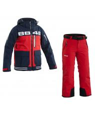 Костюм детский 8848 Altitude «KID SOFTSHELL» red + «INCA» red
