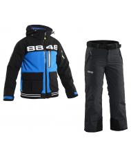 Костюм детский 8848 Altitude «KID SOFTSHELL» blue + «INCA» black