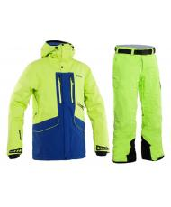 КУРТКА 8848 ALTITUDE LEDGE LIME + БРЮКИ BASE 67 PANT LIME