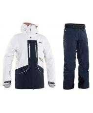 КУРТКА 8848 ALTITUDE LEDGE WHITE + БРЮКИ BASE 67 PANT NAVY