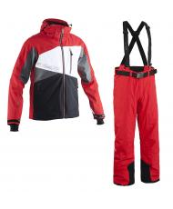 7110-7122_ 8848 Altitude куртка «RONIN» red + брюки «BASE 68» red