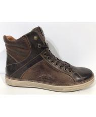 S 346  Ботинки мужские BASTOM (темно-коричневые)