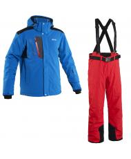 8848 Altitude куртка «KENSIN» синий +брюки «BASE-68» красный