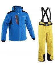 8848 Altitude куртка «TRIPLE FOUR» синий+брюки «BASE-68» желтый