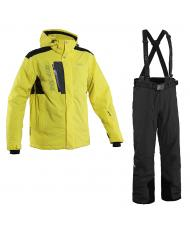 8848 Altitude куртка «TRIPLE FOUR» желтый+брюки «BASE-68» черный