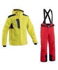 куртка «TRIPLE FOUR» желтый+брюки «BASE-68»