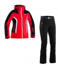 Костюм 8848 Altitude КУРТКА VANICE red + БРЮКИ DENISE black