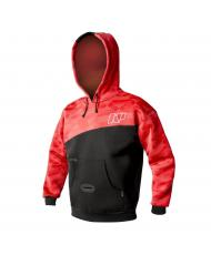 ACC725 (S) Неопреновая куртка Neil Pryde Neo Hoodie 2мм (черно-красная) С3