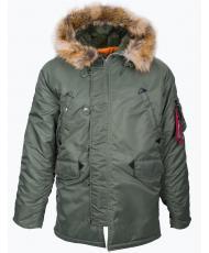ACPJ-170205 Куртка-парка «AIR FORCE» sage