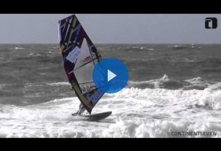 Ricardo Campello with the Salt CampelloLTD 5.6 at the PWA in Sylt