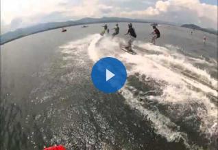 Sao Paulo Boat Show motorized surfboard