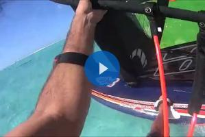 Oceania de Windsurf: long distance in Tahiti!
