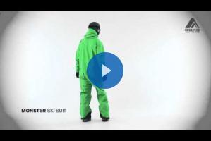 Мужской лыжный комбинезон MONSTER от 8848 Altitude