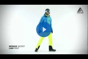 Мужская куртка MIRAGE и штаны LINK от 8848 Altitude