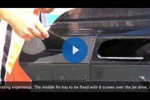 Видео-инструкции по обслуживанию JetSurf (Как прикручивать плавник)