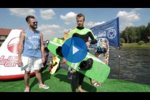 Wakeboarding: как сделать FS180 с кикера