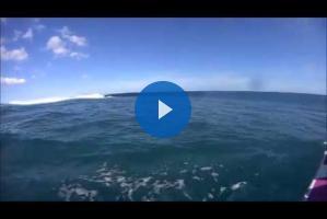 Oceania de Windsurf: long distance in Tahiti!