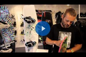 Jobe 2013 Product Info - Revolt Flex Series Wakeboard