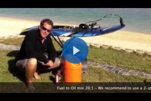 Видео-инструкции по обслуживанию JetSurf (Как смешивать бензин и масло)