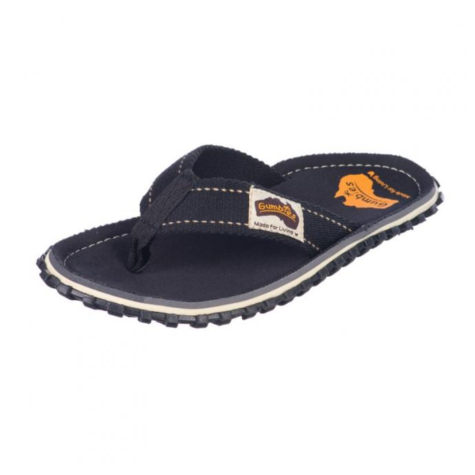 Шлепки Gumbies Flip Flop Black (BLK) - Артикул GMBS BLK*S16 - Фото 2