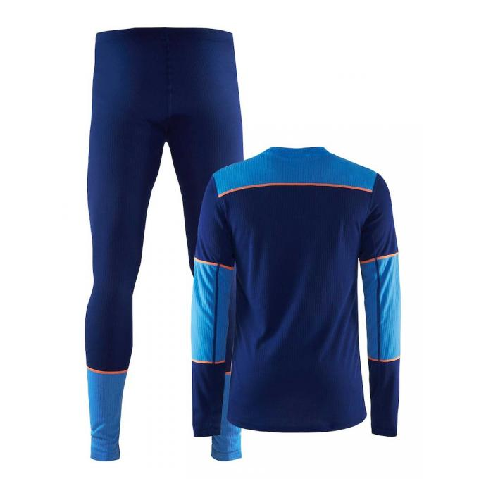 Комплект CRAFT Baselayer - 1905332/392355 CRAFT Baselayer Blue - Цвет Синий - Фото 1