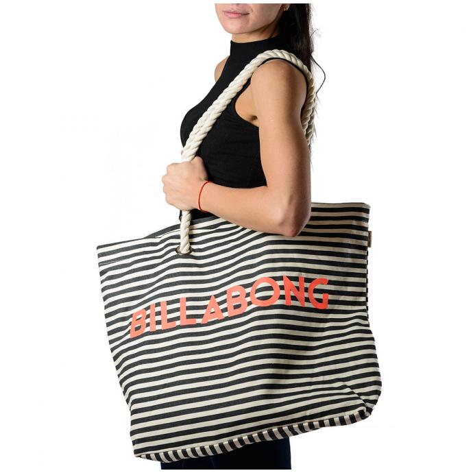 Сумка Billabong ESSENTIAL BAG - 52170 BLK/WHITE - Цвет BLK/WHITE - Фото 3
