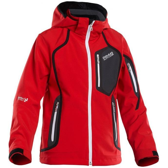 Детская куртка 8848 Altitude «SALVATION SOFTSHELL» - 8848 Altitude «Salvation Softshell» red  - Цвет Красный - Фото 1