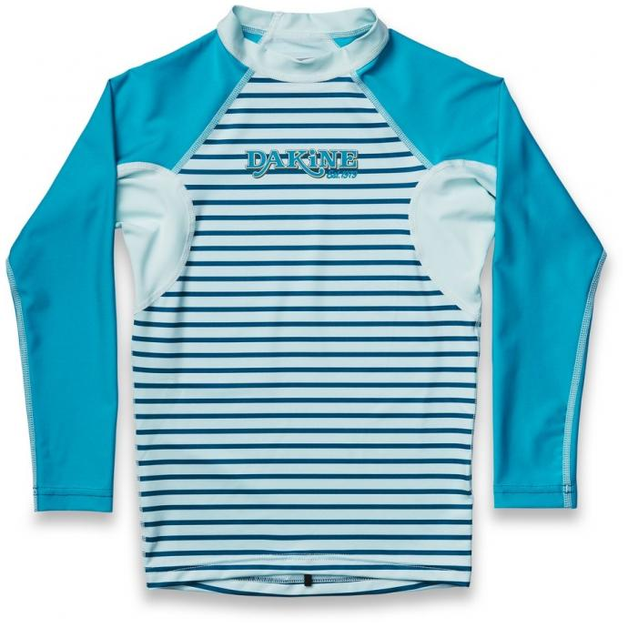 Майка лайкровая дет. DK BOY'S HEAVY DUTY SNUG FIT L/S STENCIL PALM - 10001687 DK BOY'S HEAVY DUTY SNUG FIT L/S STENCIL PALM - Цвет Голубой - Фото 1