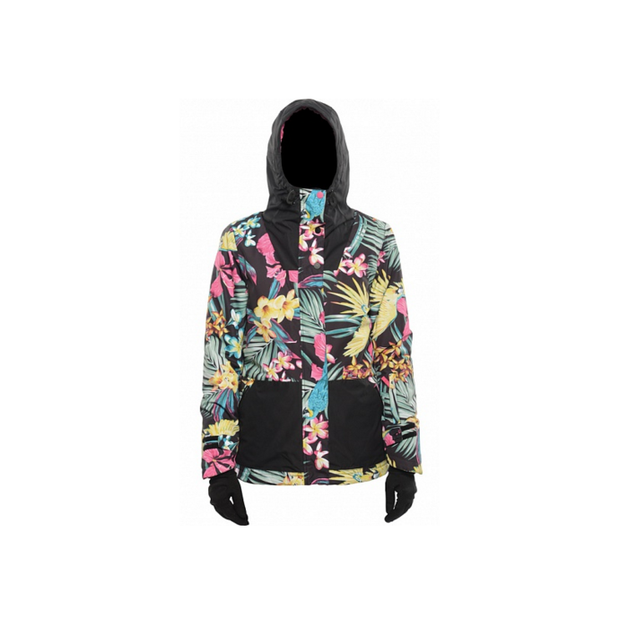 Куртка BILLABONG CHEEKY JACKET FW15 - CHEEKY JACKET FW15 Tropical - Цвет Разноцветный - Фото 1