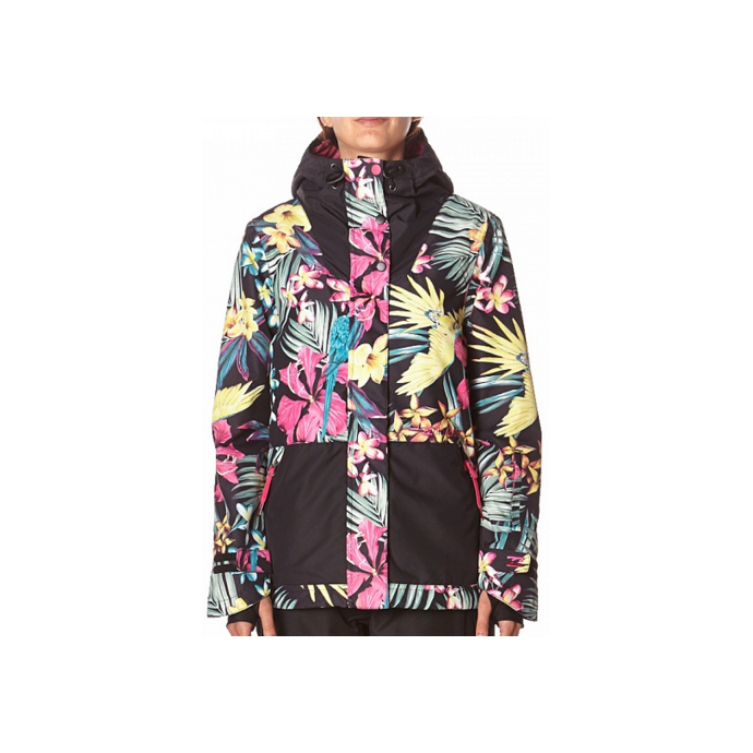 Куртка BILLABONG CHEEKY JACKET FW15 - CHEEKY JACKET FW15 Tropical - Цвет Разноцветный - Фото 2