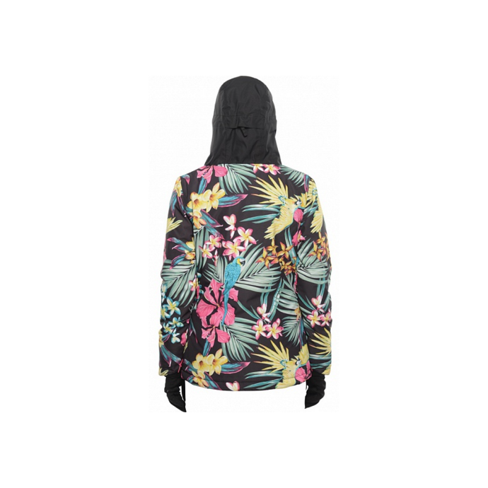 Куртка BILLABONG CHEEKY JACKET FW15 - CHEEKY JACKET FW15 Tropical - Цвет Разноцветный - Фото 3