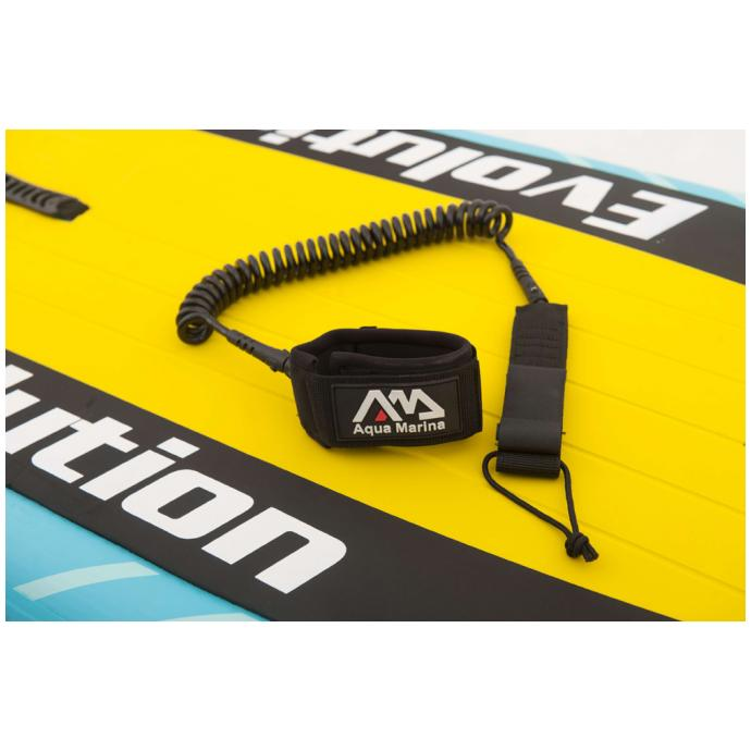 Лиш Aquamarina Paddle Board Coil Leash Black S18 - Артикул B0302203*S18 - Фото 1