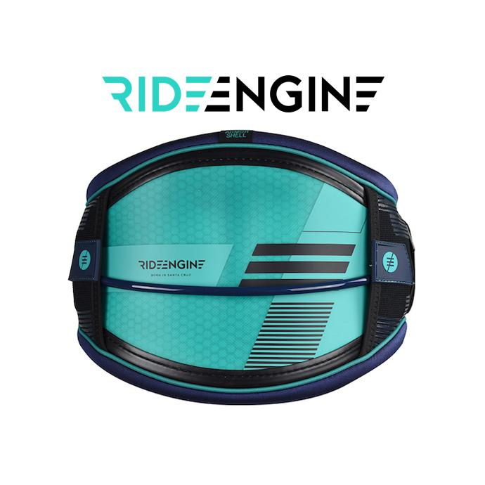 Кайт Трапеция RideEngine 2018 Hex Core Sea Engine Green Harness (XS) - 38013-72092 - Цвет Голубой - Фото 1