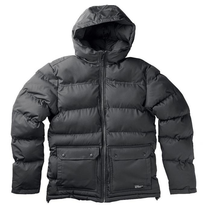 Куртка Городская Nixon MALONE JACKET - 48977 BLACK - Фото 2