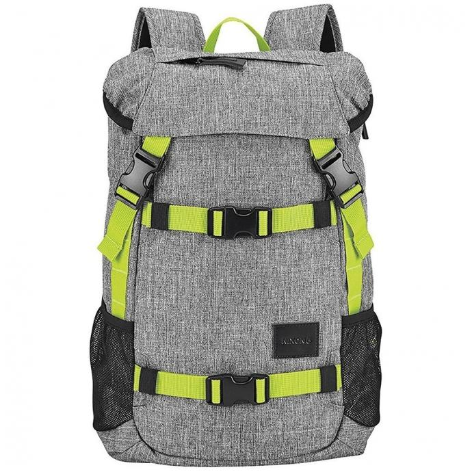 Рюкзак NIXON SMALL LANDLOCK SE BACKPACK - 63708 Heather Gray/Li - Цвет Серый - Фото 1